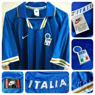 Italy Nike Italia Home Kit 1996-1997 Retro Jersey Original size XL