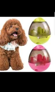 Pink Pet dog Egg Boiler treats toy, (Pink)
