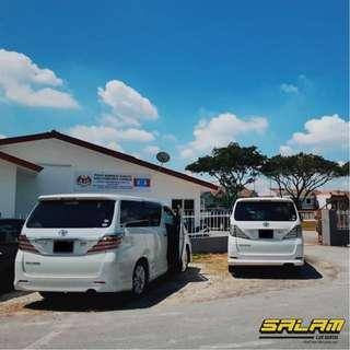 TOYOTA VELLFIRE FOR RENT!