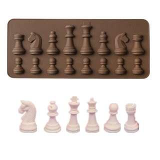 Chess Mold / chess board game games king queen knight knights