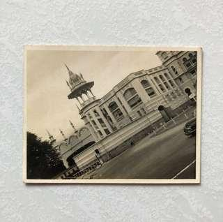 Vintage Old Photo - Old Black & White Photograph showing Malaysia Kuala Lumpur Station (8.5 by 6.5cm)