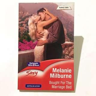MELANIE MILBURNE - Bought For The Marriage Bed