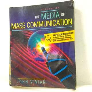 The Media of Mass Communications 6th Edition