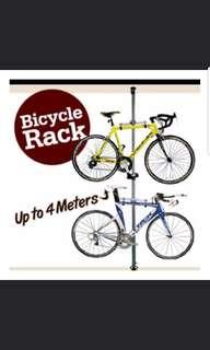 Bicyle Pole Rack for 2 Bicycles