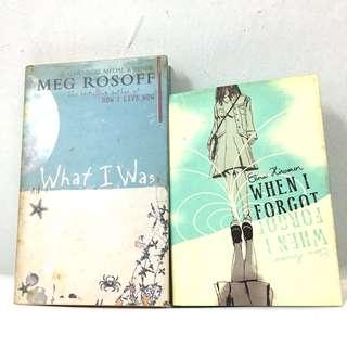 Teens Books : What I Was & When I forget