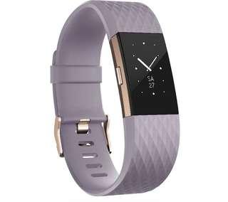 BNIB Fitbit Charge 2, Rose Gold