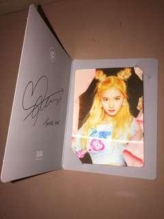Twice Page Two - Sana Lenticular Card