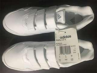 Brand new with tag Adidas White Sneakers US 5.5