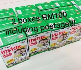 Instax Film Twinpack 20pcs