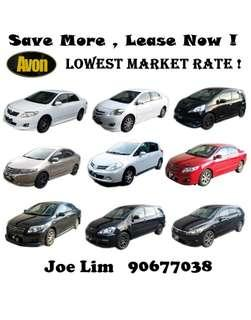 Cars for rent / rental