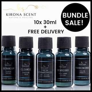 🚚 🌟BUNDLE SALE IS BACK! WATER SOLUBLE ESSENTIAL OIL. AROMATHERAPY. USE FOR AROMA DIFFUSERS