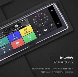 "8"" 4G sim Android 5.1 GPS全功能藍芽車機"