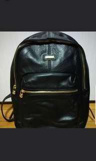 Tocco Toscano Black Backpack Branded Ori Ransel Hitam
