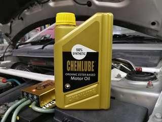 Chemlube 10w30 Group 5 Ester Based Fully Engine Oil