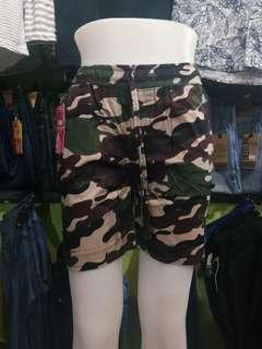 Hotpants Army Strecth