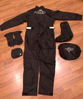 Dainese one piece rain suit