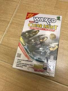 WAXCO CLEAR LIGHT LENS RESTORE & TREATMENT
