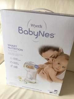 Wyeth BabyNes Smart Nutrition System 惠氏 晚間🌝🌙⭐️快速沖奶器