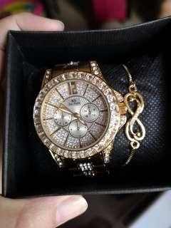Waterproof Diamond watch
