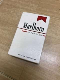 Marlboro 20's Filter Made in USA Box