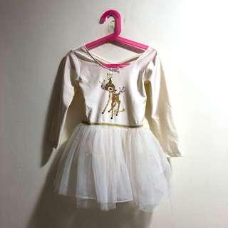 H&M Bambi Ballerina tulle dress
