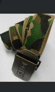 Camouflage belt/ Brand New