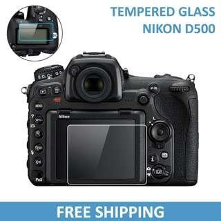 Nikon D500 Tempered Glass Screen Protector
