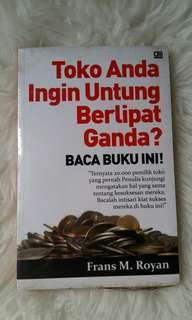 Buku BISNIS : TOKO ANDA INGIN UNTUNG