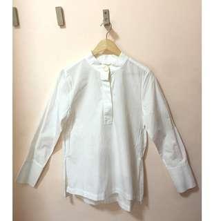 PRELOVED H&M White Polo Blouse for women, EUR38