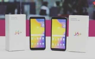 Samsung J4+ & J6+ Promo biaya admin dan 1X angsuran