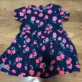 🚚 Floral Babydoll Dress 24month