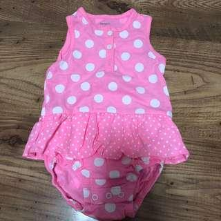 🚚 Baby Girl Romper 6month
