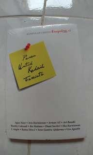 Buku kumpulan cerpen