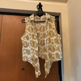 Cotton On Brown designed vest