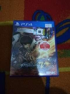WTS PS4 KING OF FIGHTERS 14