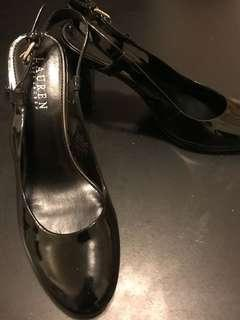 New Ralph Lauren Black Heels