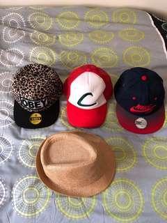 🚚 Assorted caps