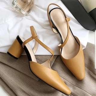 REDUCED BN ginger yellow heels