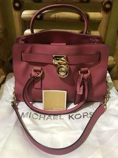 Michael Kors Pink Hamilton two way (handbag & shoulder bag)
