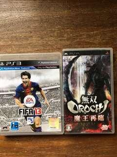 🚚 PS3/psp games $5 each