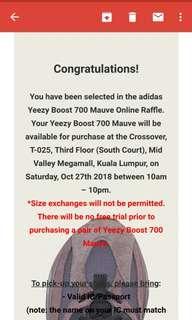 Adidas yeezy waze runner 700 uk8.5