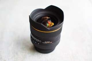 Sigma 12-24mm f/4.5-5.6 EX DG HSM Canon Mount EF