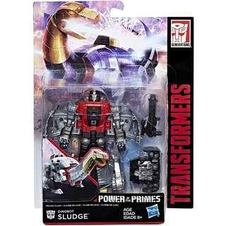 Transformers Power Of The Primes Deluxe Class Sludge Dinobots Volcanicus
