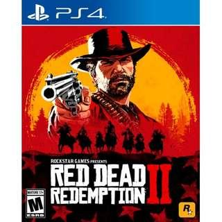 Brand New R3 PS4 Red Dead Redemption 2