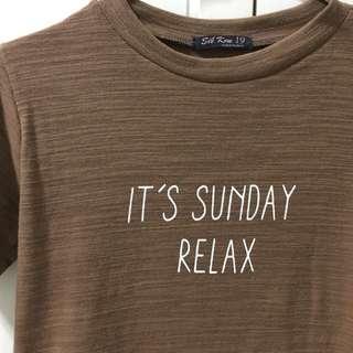 Sunday Tee