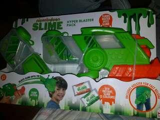 LIMITED EDITION NICKELODEON SLIME HYPER BLASTER