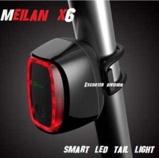 Meilan X6 tail light