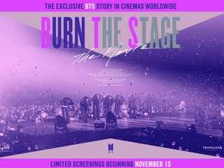 MYTOWN KL BURN THE STAGE THE MOVIE - 2 tickets