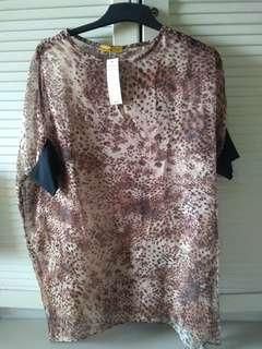 Blouse animal print