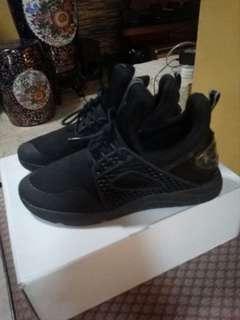 Aldo black rubber shoes